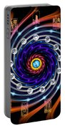 Celtic Tarot Moon Cycle Zodiac Portable Battery Charger