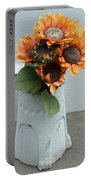 Cemetary Flowers 1 Portable Battery Charger