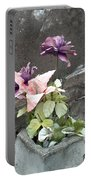 Cemetary Flowers 2 Portable Battery Charger