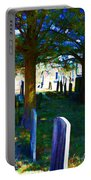 Cemetery Color 2 Portable Battery Charger