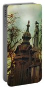 Cemetery Dusk Portable Battery Charger