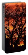 Cemetery Sunset Portable Battery Charger