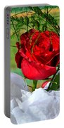 Centenary Rose Portable Battery Charger