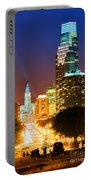 Center City Philadelphia Night Portable Battery Charger