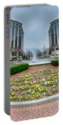 Center Fountain Piece In Piedmont Plaza Charlotte Nc Portable Battery Charger