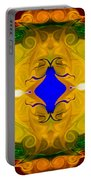 Centered In Peace Abstract Pattern Artwork By Omaste Witkowski Portable Battery Charger