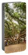 Central Court - Banyan Tree Park In Maui. Portable Battery Charger