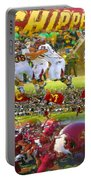 Central Michigan Football Collage Portable Battery Charger