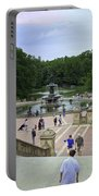 Central Park - Bethesda Fountain Portable Battery Charger