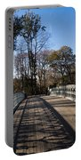 Central Park Bridge Shadows Portable Battery Charger