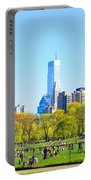 Central Park Panoramic View Portable Battery Charger