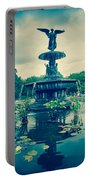 Central Park Fountain Portable Battery Charger