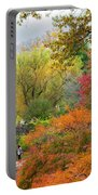 Central Park Gapstow Bridge Autumn IIi Portable Battery Charger