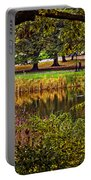 Central Park In Autumn - Nyc Portable Battery Charger