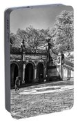 Central Park - Near Bethesda Fountain Portable Battery Charger