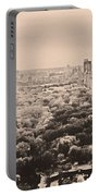Central Park Pano Sepia Portable Battery Charger