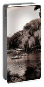 Central Park Rowing - New York City Portable Battery Charger