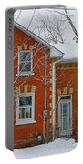 Century Home In Winter 3 Portable Battery Charger