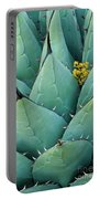 Century Plant And Tiny Blossom Portable Battery Charger