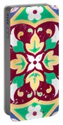 Ceramic Tile Closeup Portable Battery Charger