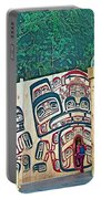Ceremonial Lodge In Canadian Museum Of Civilization In Gatineau- Portable Battery Charger
