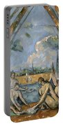 Cezanne Baigneuses 1905 Portable Battery Charger