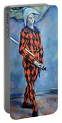 Cezanne's Harlequin Portable Battery Charger