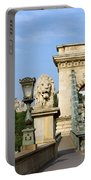 Chain Bridge In Budapest Portable Battery Charger