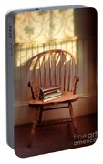 Chair And Lace Shadows Portable Battery Charger