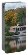 Chalet On The Lagoon Portable Battery Charger