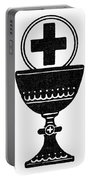 Chalice And Cross Portable Battery Charger