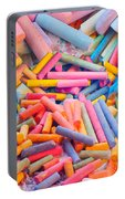 Chalk Colors Portable Battery Charger