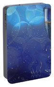 Champagne Blue  Portable Battery Charger