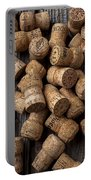 Champagne Corks Portable Battery Charger