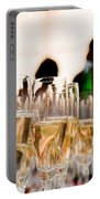 Champagne Glasses At The Party Portable Battery Charger