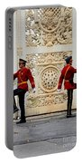 Change Of Guards Ceremony Dolmabahce Istanbul Turkey Portable Battery Charger