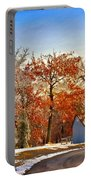 Change Of Seasons Portable Battery Charger by Lois Bryan