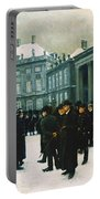 Changing Of The Guard At Amalienborg Palace Portable Battery Charger