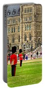 Changing Of The Guard In Front Of Parliament Building In Ottawa- Portable Battery Charger