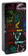 Chaos In Colors Portable Battery Charger