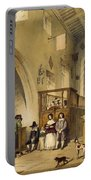 Chapel At Haddon Hall, Derbyshire Portable Battery Charger