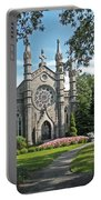 Chapel At Mt Auburn Cemetery Portable Battery Charger