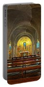 Chapel At Notre Dame Cathedral Verdun Portable Battery Charger