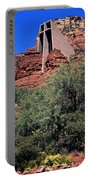 Chapel In Red Rocks Portable Battery Charger