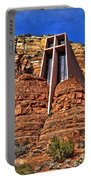 Chapel Of The Holy Cross  Sedona Arizona Portable Battery Charger