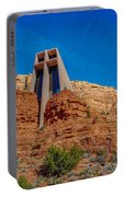Chapel Of The Holy Cross Sedona Az Front Portable Battery Charger