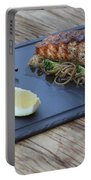 Char Grilled Salmon Portable Battery Charger