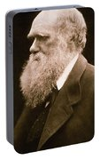 Charles Darwin Portable Battery Charger