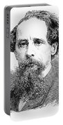 Charles Dickens, English Author Portable Battery Charger