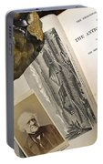 Charles Lyells Antiquity Of Man 1863 Portable Battery Charger